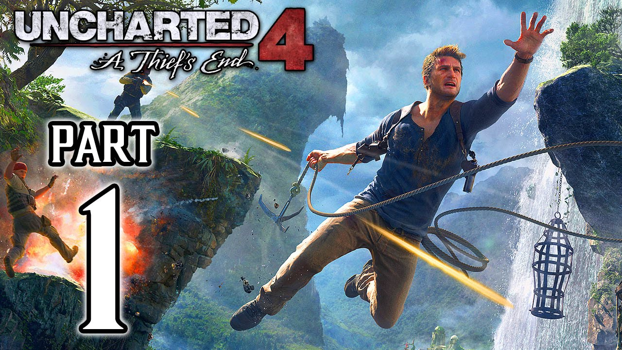 Uncharted 4: A Thief's End Walkthrough PART 1 Gameplay ...