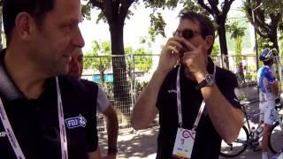 Tour d'Italie 2017 - On a trouvé Martial Gayant dans le journal !