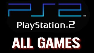 All PS2 games Part 8