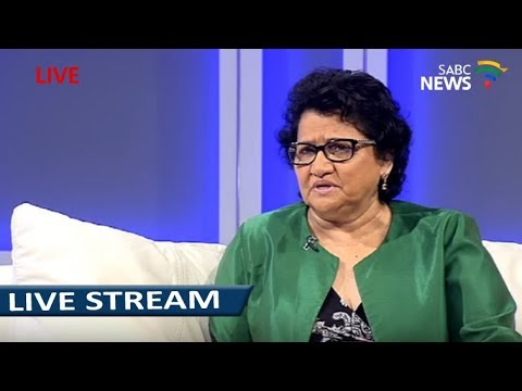 ANC Deputy SG, Jessie Duarte on the upcoming elective conference