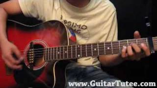 Miley Cyrus - Goodbye, by www.GuitarTutee.com