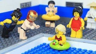 Lego Superhero was Lost IRON MAN's ARMOR by Ninja Go