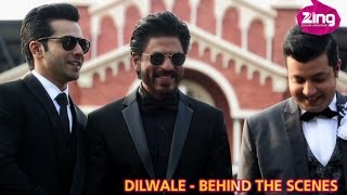 Behind The Scenes From Dilwale's Climax!