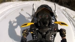 Ski-Doo 800 E-tec with Bikeman Performance can...audio sample in HD