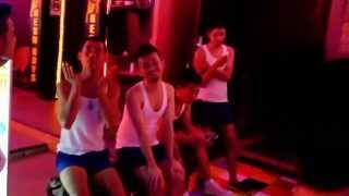 Repeat youtube video Bangkok Gay Street Bar Nightlife Patpong 2015