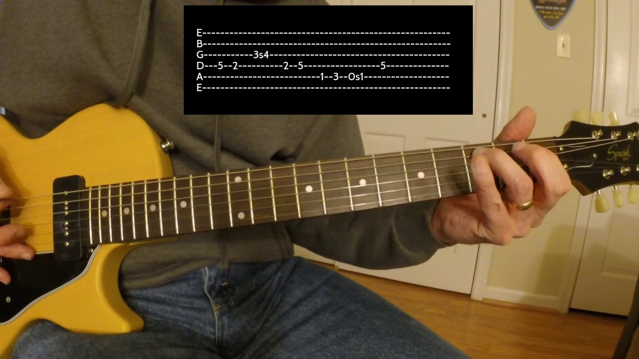 Breakdown Dead Ahead Guitar Solo Lesson Youtube