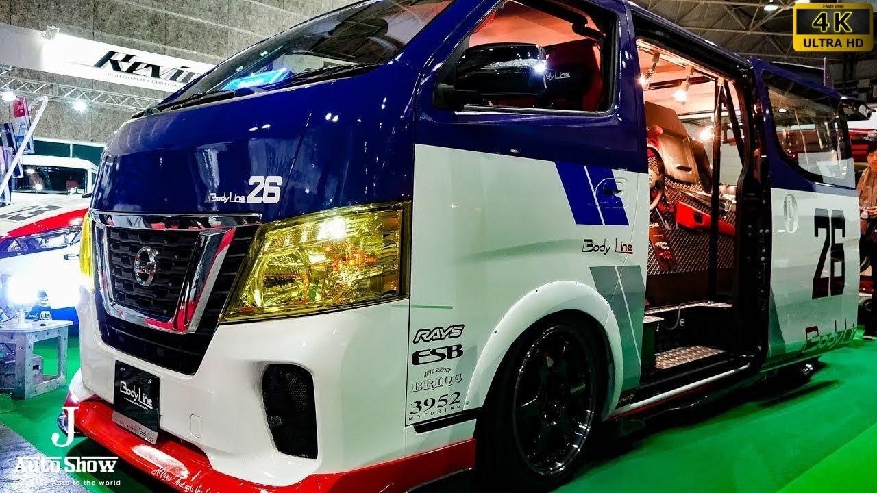4k Body Line Nissan Nv350 Caravan Modified