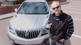 2013 Buick Encore Test Drive & Review: An economy car in a fancy suit?