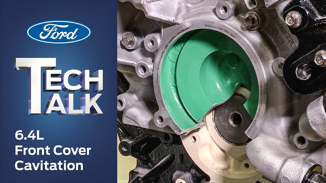 64l Front Cover Cavitation Ford Power Force Tech Talk Youtube 6 4l Engine Diagram