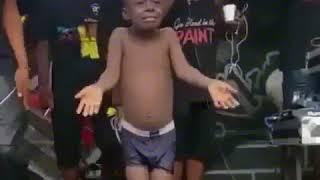 Funny Nigerian kid dancing