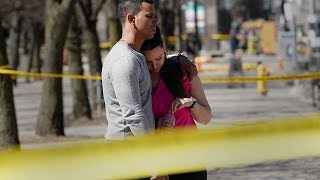 Disbelief in Toronto after van leaves trail of death in city centre
