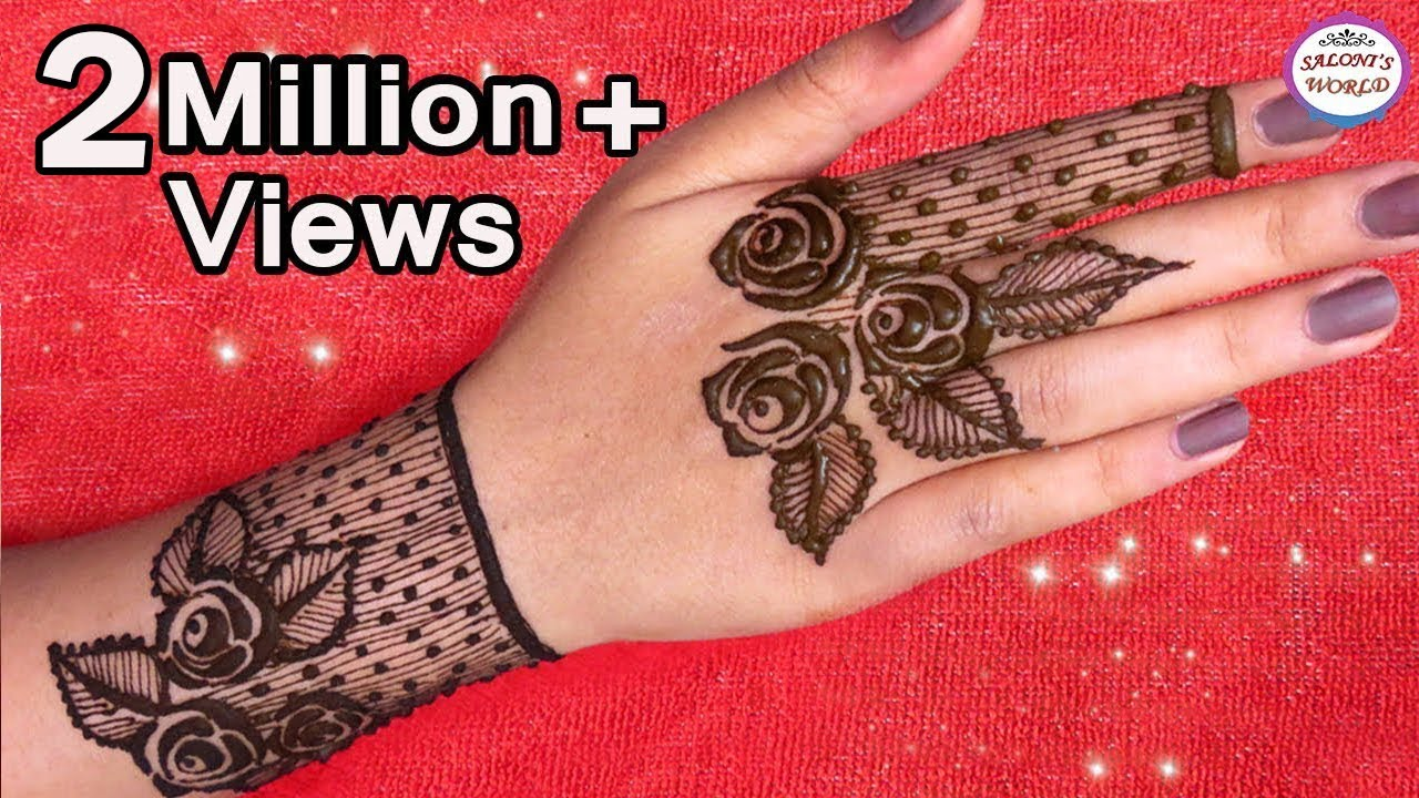 Mehndi Wallpaper Hd How To Apply Simple Arabic Mehndi Designs For Back Hands