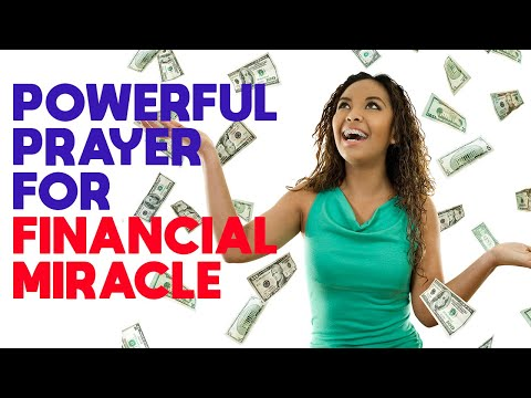 Powerful Miracle Prayer for Financial Help | Prayer for Money and Financial Miracle That Works
