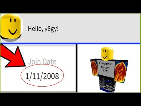 LOGGING INTO MY OLDEST ROBLOX ACCOUNT EVER