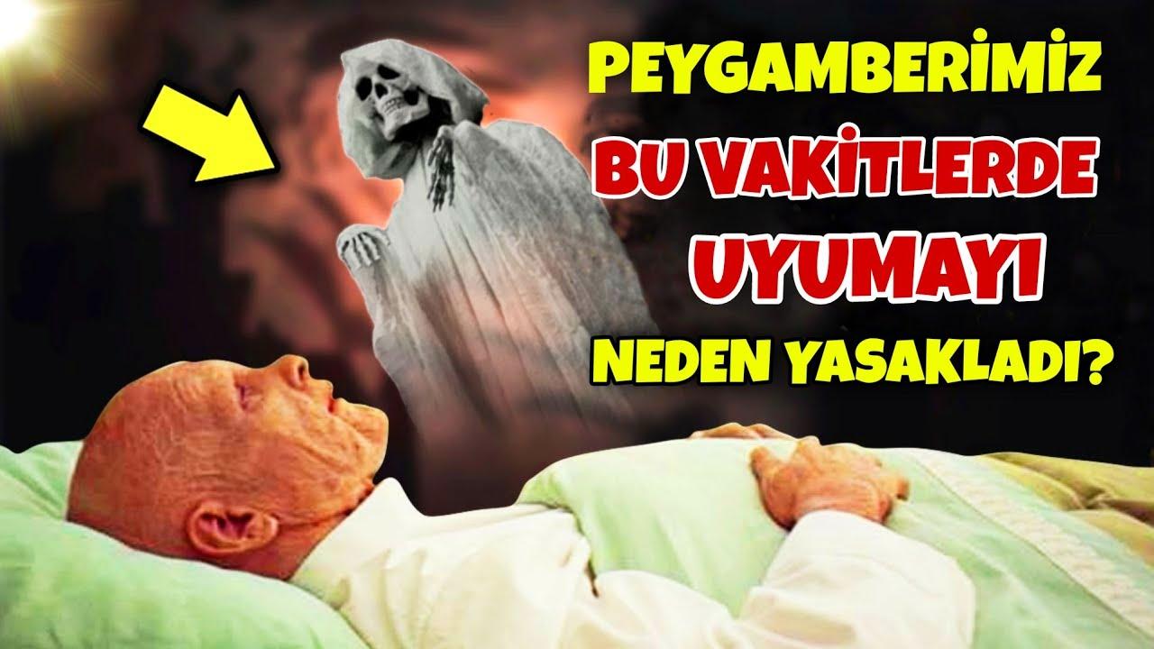 Peygamberimiz Neden Bu Vakitlerde Uyumamızı YASAKLADI?