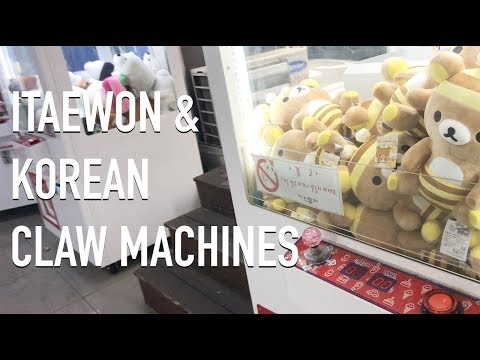 Kawaii Vlog: Itaewon & Intro to Korean Claw Machines | Korea Vlog
