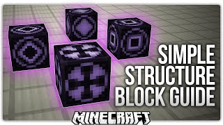 Minecraft 1.10 Structure Block Tutorial / Guide: Everything You NEED To Know!