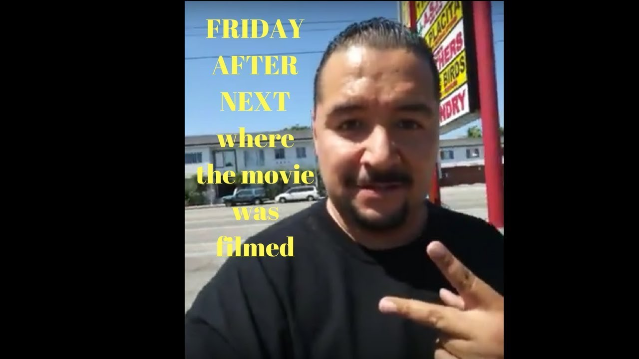 Friday After Next Were They Filmed The Movie Youtube