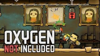 Oxygen Not Included!  Ep. 4 - Stress Reduction Therapy! - Oxygen Not Included Alpha