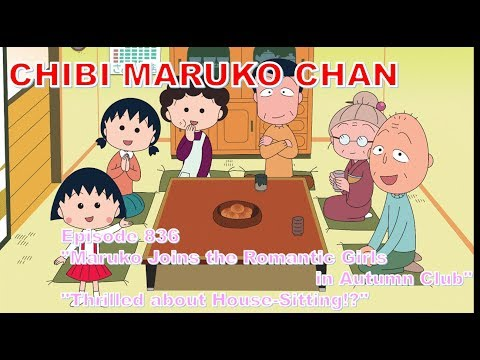 """Chibi Maruko Chan Eng Dub #836 """"Maruko Joins The Romantic Girls In Autumn Club"""" And The Other"""