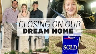 FINALLY HAVE OUR DREAM HOME *emotional*