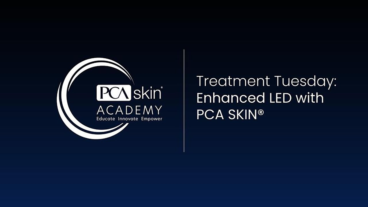 Click to open this video in a pop-up modal: Treatment Tuesday: Enhanced LED for Aging Skin with PCA SKIN<sup>®</sup>