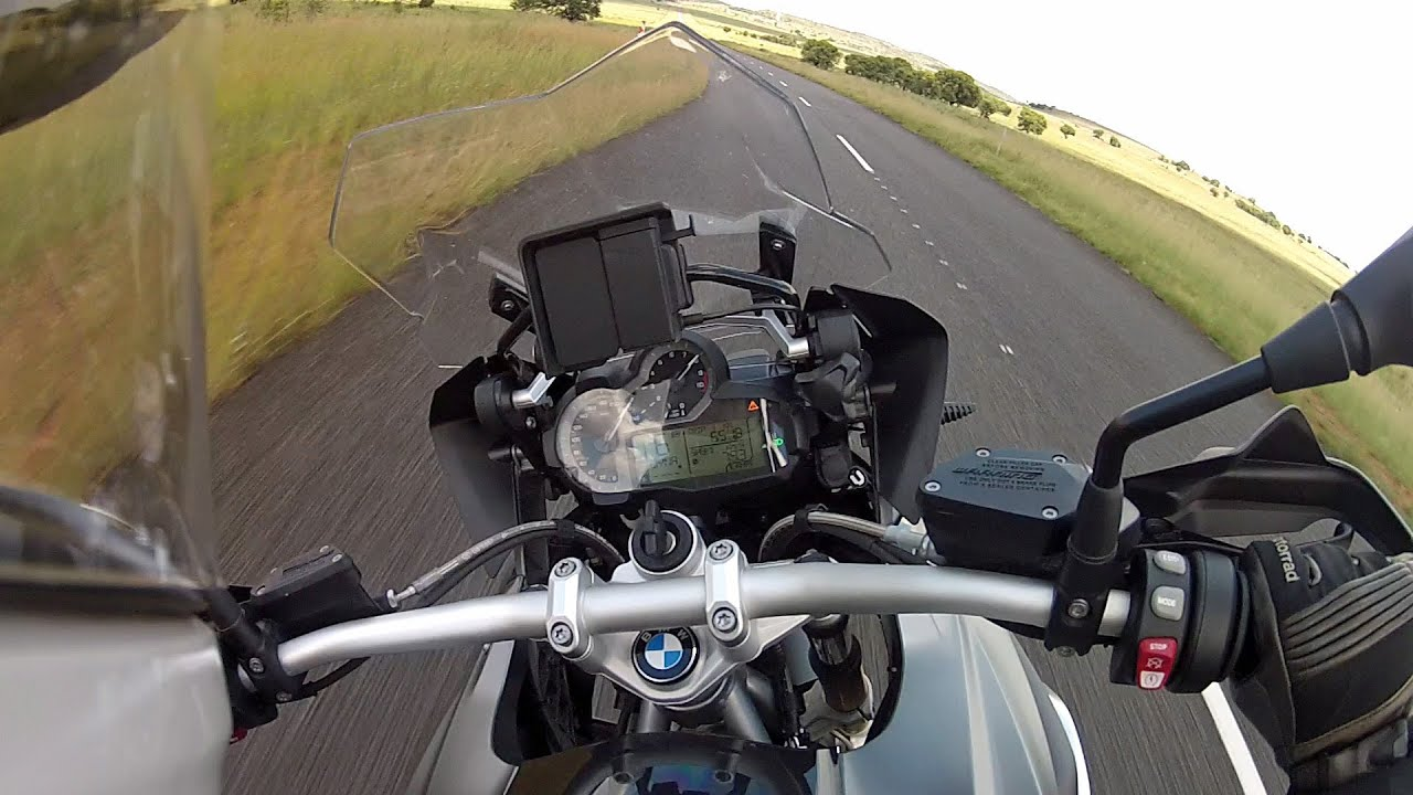 BMW R1200GS LC Top Speed and Acceleration Test - YouTube