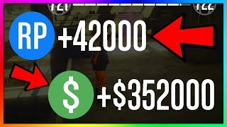 How To Make $352,000 & 42,000 RP PER GAME in GTA 5 Online | NEW Fast Unlimited Money Guide/Method