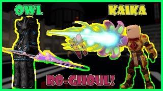 * OC HALLOWEEN UPDATE * OWL QUINQUE VS KAIKA QUINQUE IN RO-GHOUL | Roblox