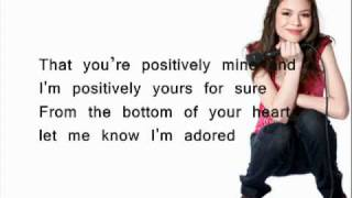 Miranda Cosgrove - Adored (HQ _ lyrics) (Subtitulada al ingles)