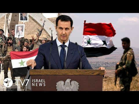 Syria vows to recapture the Golan Heights - TV7 Israel News 05.04.19