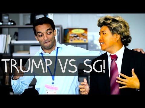 DONALD TRUMP vs. SINGAPORE! (Bureau-Crazy Webseries Ep 8)