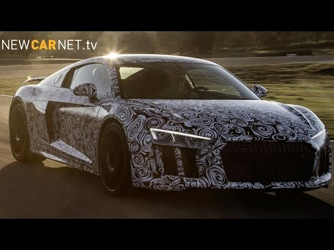 Audi R8 Prototype hits test track