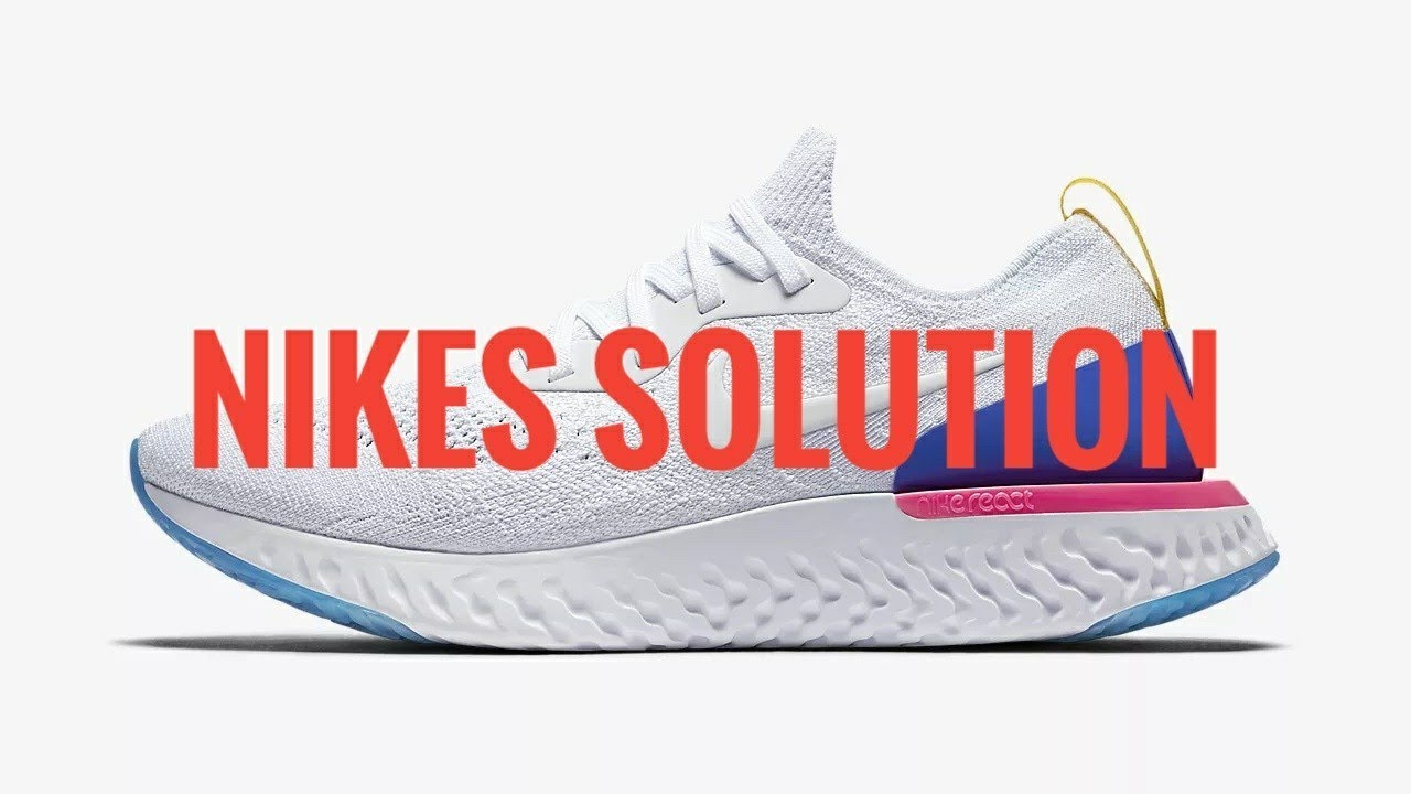 Nike's Solution to EpicReact Flyknit Issue