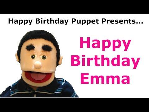 Funny Happy Birthday Emma  Birthday Song