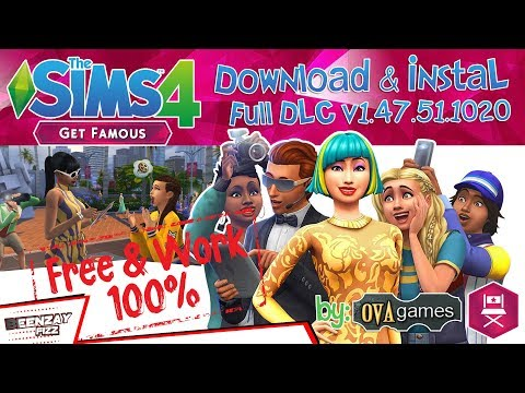 Download & Instal The Sims 4 : Get Famous (PC) Full Game Crack [All DLC's] thumbnail