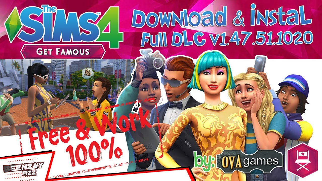 sims 4 get famous free download full version pc