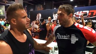 Dmitry Klokov - Mr.Olympia 2014 -  2nd day