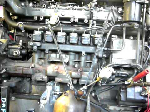 Adaptronic engine Test unit running a DAF XF engine  YouTube