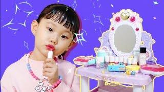 라임의 라푼젤 미미 화장대 어린이 화장품 뽀로로 카메라 장난감 소꿉놀이 LimeTube & Toy 라임튜브