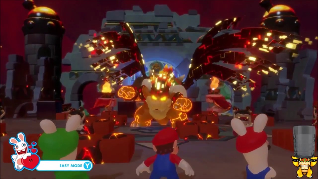 mario rabbids kingdom battle world 4 mega mega mega mega