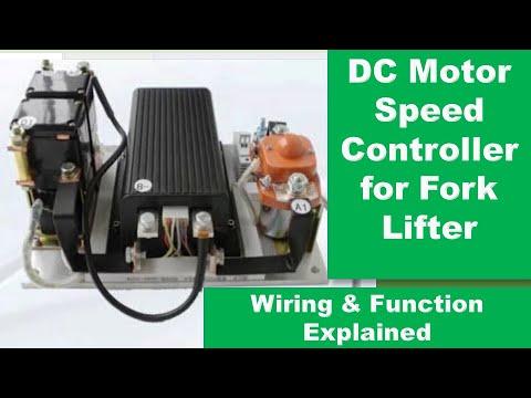 85 wiring diagram for fork lifter motor using dc48dp500blr01 pwm  controller  urdu