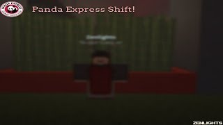 Roblox Panda Express Shift | Zenlights