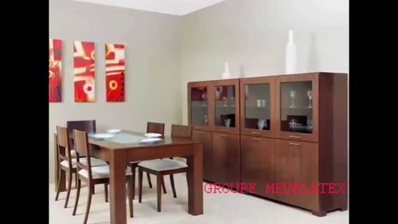 Meublatex salles a manger youtube for Inter meuble tunisie catalogue 2014