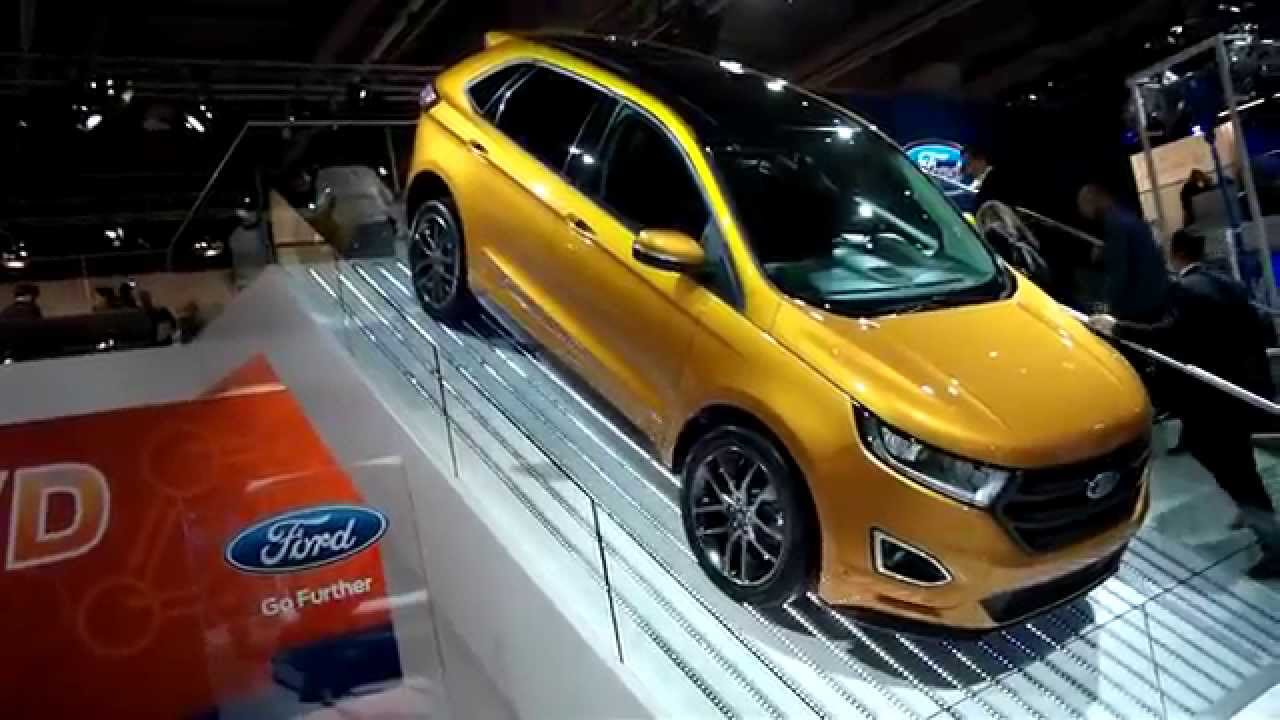 ford edge sport iaa 2015 modell 2016 deutschland europa. Black Bedroom Furniture Sets. Home Design Ideas