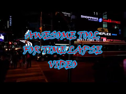 AWESOME TIME LAPSE TOOL FOR MAKING COOL VIDEOS