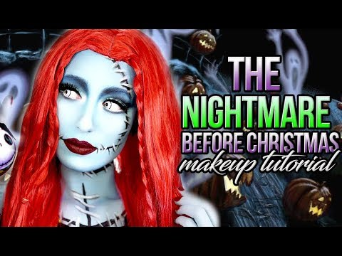 victorialynbeauty vlbbeauty - Sally From Nightmare Before Christmas Makeup