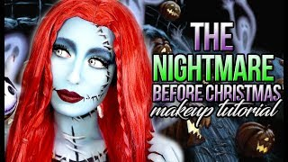 sally the nightmare before christmas sally makeup tutorial victoria lyn beauty