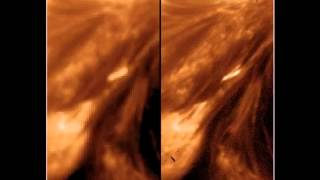 Magnetic braids were detected in the solar corona Магнитные «косы» впервые обнаружены в солнечной короне