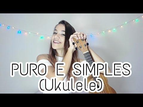 PURO E SIMPLES (MORADA) - UKULELE